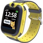 Детские смарт-часы Canyon Tony KW-31 Yellow/Gray (CNE-KW31YB)