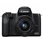Фотоаппарат гибридный CANON EOS M50 BK M15-45 mm S