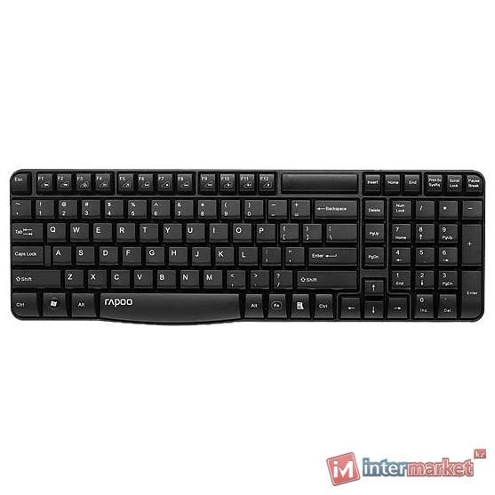 Клавиатура Rapoo E1050 Black USB