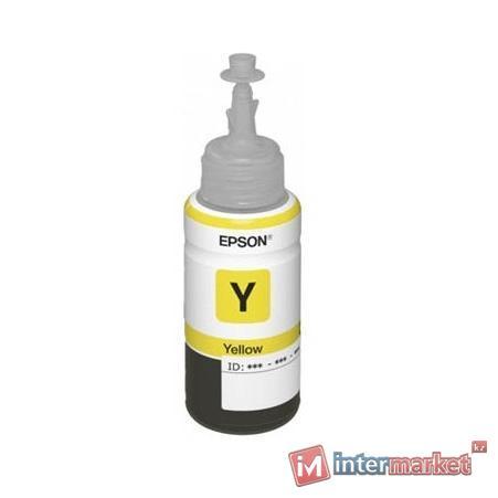 Контейнер с чернилами Epson L100/L200 Yellow (C13T66444A)