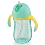 Поильник с трубочкой и ручками Happy Baby Straw Feeding Cup Mint