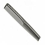 """Расчёска """"ES-113"""", комбинированная узкая для женских стрижек, нейлон"""