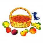 """Шнуровка """"Корзина с фруктами"""""""